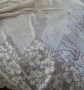 Тюль плотная