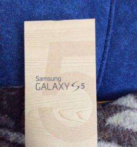 Коробка от Samsung GALAXY S5