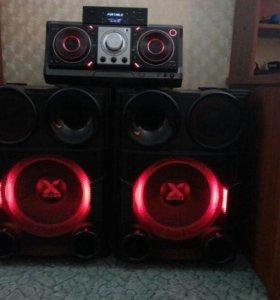 Сверхмощная аудиосистема X-boom LG CM9730