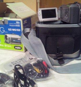 Продам цифровую видеокамеру jvc everio gz-mg150