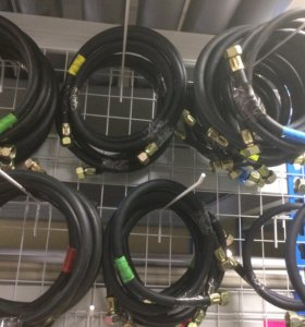 Шланги газовые резиновые