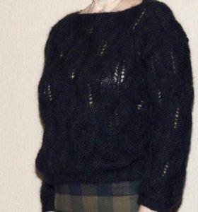 #кофтаизкидмохера#джемпер#пуловер#вязаныйсвитор#