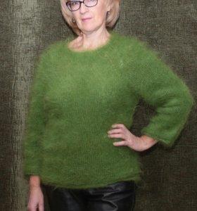#мохеровый#джемпер#пуловер#вязаныйсвитор#