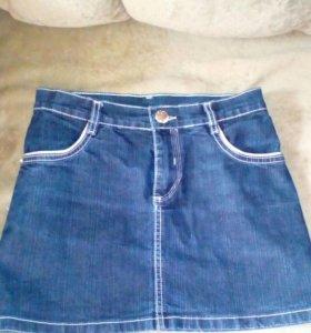 Новая джинцывая юбка