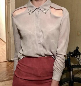 Легкая шифоновая блуза