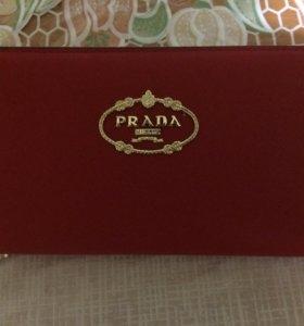 Новый кошелёк клатч Prada