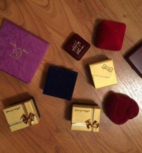 Коробочки для украшений (набор 9 шт)