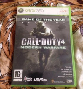 Call of duty 4 MW на Xbox лицензия