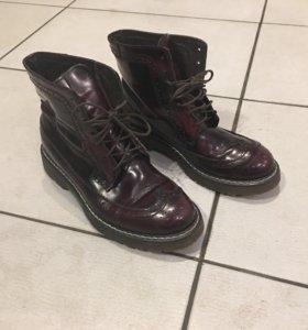 Ботинки модные размер 37 демисезонные