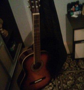 Продам гитару и чехол
