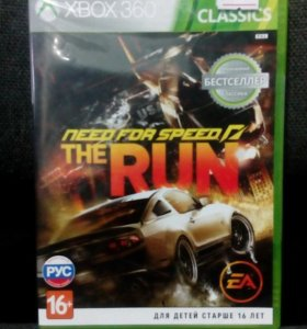 Need for speed the run на Xbox360