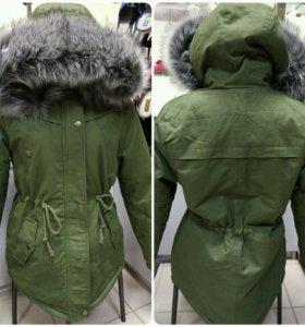 Зимняя куртка-парка новая