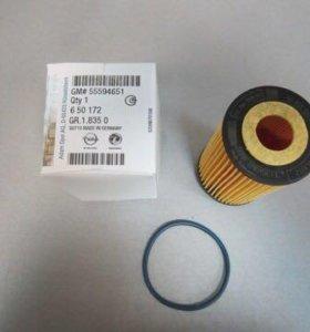Фильтр масляный Opel Chevrolet