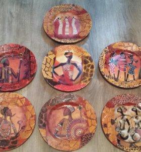 Тарелочки Африканские страсти