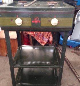 Двухкамфорная печь