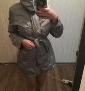 Новая куртка плащ