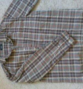 Фирменные рубашки 6 шт. M-L