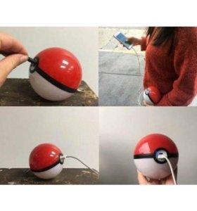 Poke ball зарядка + кабель на андроид