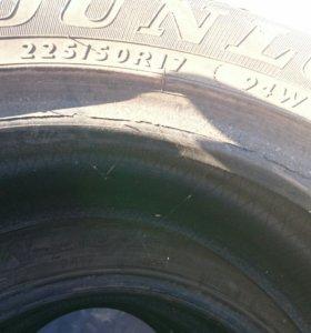 Резина летняя Dunlop