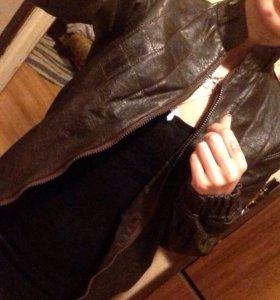 Куртка из натуральной кожи/косуха