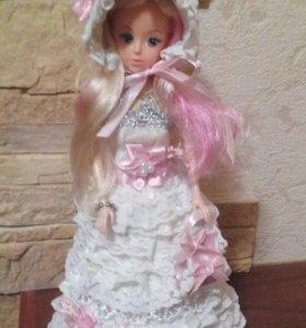 Кукла (шкатулка), ручная работа