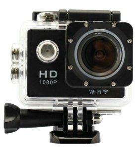 Экшн камера sj 4000 с креплениями