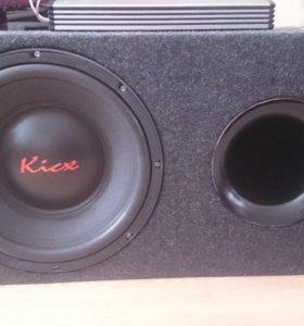 СабВуфер Kicx pro power 381d