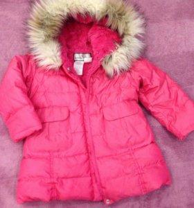 Куртка демисезонная на девочку 2-3 года