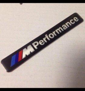 Эмблема M Performance BMW