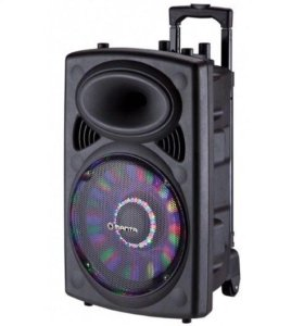 Колонка акустическая микрофон пульт
