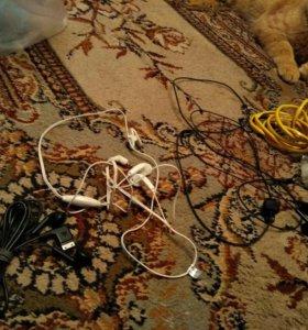 Шнуры.кабели.переходники