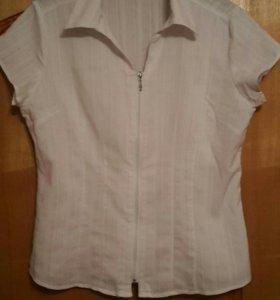 Блузки рубашки 50 р-р