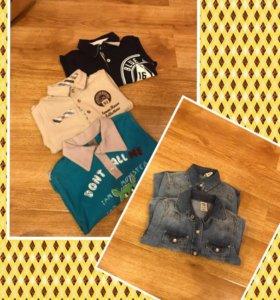 Кофты и джинсовые рубашки для мальчика