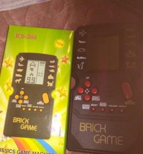 Тетрис Tetris черный компактный BRICK GAME