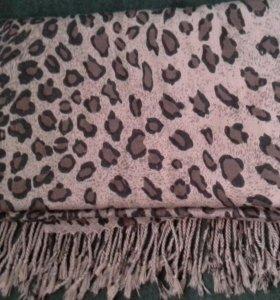 Палантин леопардовый