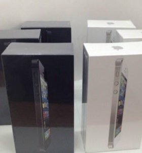 iPhone 5 16Gb чёрные и белые в наличии.