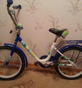 Велостпед для ребёнка 4-8 лет