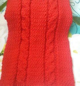 Шапки и шарфы ручной работы