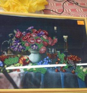 Картина бисером