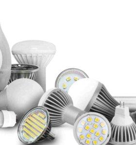 Светодиодные лампы,лампочки,led