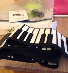 Гибкое пианино.