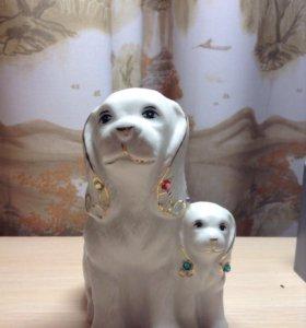 Статуэтка собачек