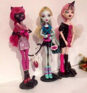 Куклы Monster high и Bratzillaz
