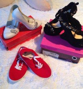 Туфли, тапочки , басаножки 35-36 р