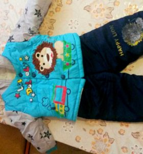 Зимний детский костюм