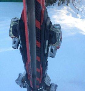 Горные лыжи (с креплением)