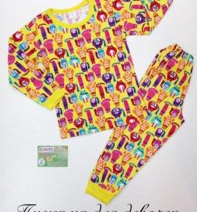 Пижама для девочек и мальчиков НОВАЯ