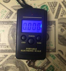 Весы электронные с подсветкой