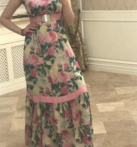 Платье в пол 42-46🌸🌺🌸