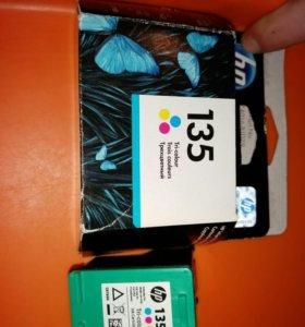 Картридж HP 135 цветной